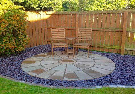 Circular Patio Designs   Greenart Landscapes Garden Design