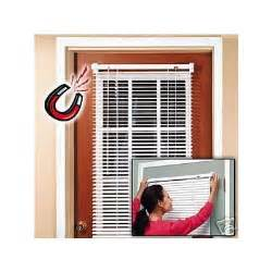 magnetic mini blinds for steel doors magneblind magnetic mini blinds for metal door half