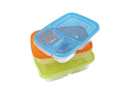 kid food storage containers ebay 3pcs lunch box easy airtight lids reusable