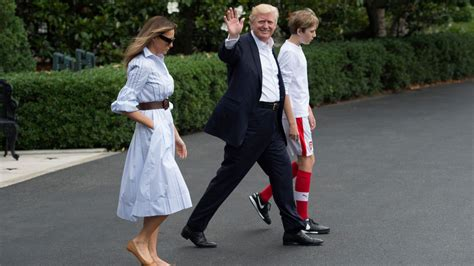 christian pulisic donald trump the future of american soccer might be barron trump