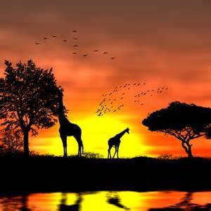 coucher de soleil africain tuto photoshop les meilleurs