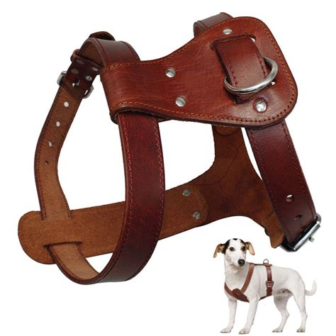 Best Promo Tali Penuntun Genuine Leather Lead 2 5 Cm X 120 Cm genuine leather harness brown real leather dogs walking vest adjustable straps