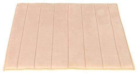 Large Memory Foam Bath Mat by Large Sized Memory Foam Bath Mat In Ivory