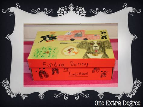 shoe box book report ideas loving s day box book reports one degree