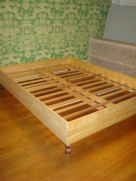 homemade bed frames homemade bed frame plans 187 woodworktips