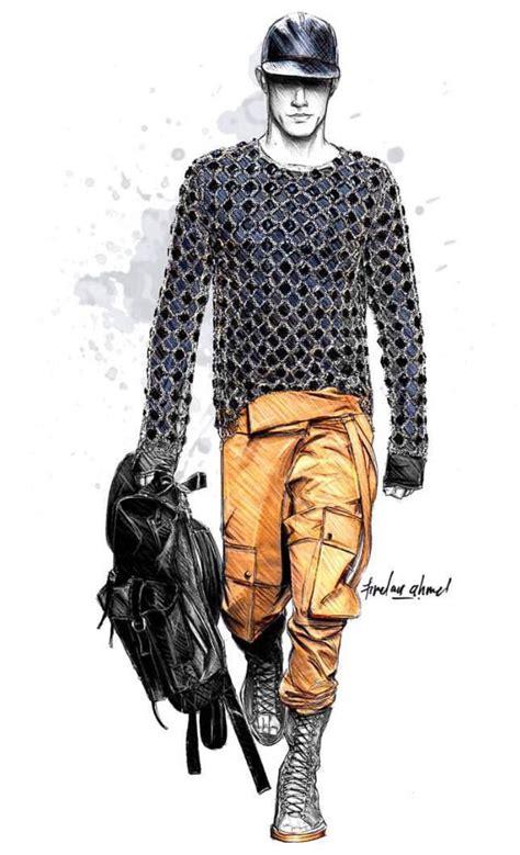 fashion illustration facts armani sketches