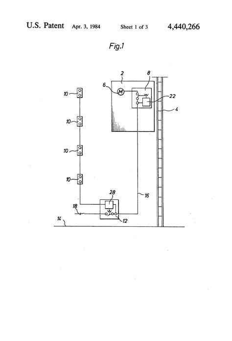 patent us4440266 rack and pinion lift system