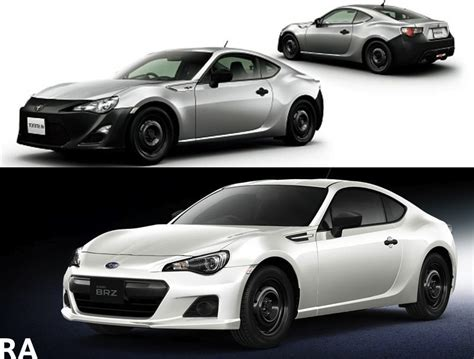 Subaru Brz And Toyota Gt86 Subaru Brz Ra And Toyota Gt 86 Rc Lightweight Versions
