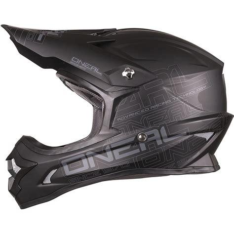 oneal motocross helmet oneal 2017 3 series helmet flat black