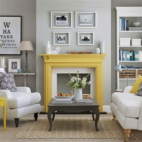 gray paint living room 29 stylish grey and yellow living room d 233 cor ideas digsdigs
