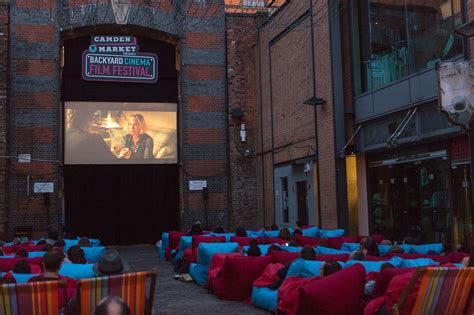 backyard cinema camden market is hosting the hottest summer film festival