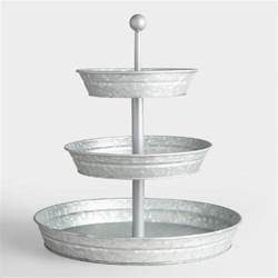 tier stand metal tiered stand park hill 12 quot x 9 5 quot distressed metal two tiered square display stand
