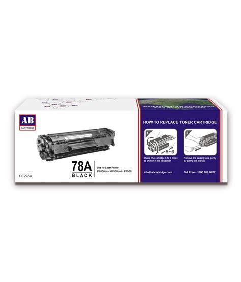 Toner Laserjet 78a ab 78a black toner cartridge ce278a hp 78a black toner compatible for hp laserjet p1560