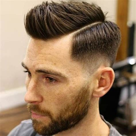 teens haircut parted on side spiked in front white boy haircuts