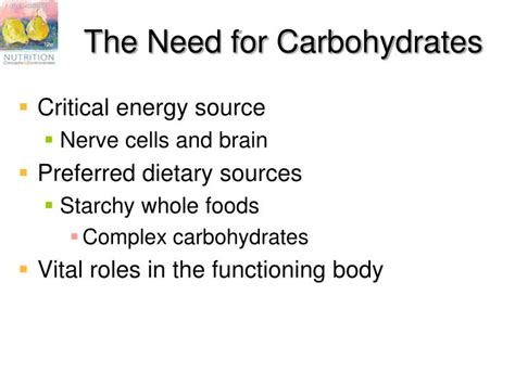 i need carbohydrates ppt chapter 4 carbohydrates sugar starch glycogen