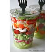 24/7 Low Carb Diner Chopped Salad In A Cup