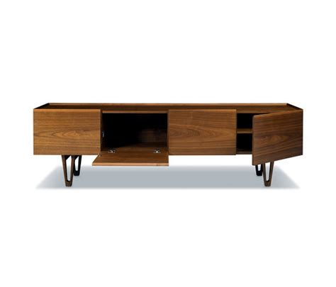 solid wood furniture modern walnut spazio rt