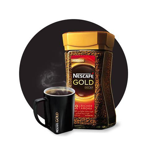 Coffee Nescafe nescaf 201 174 gold instant coffee decaffeinated nescaf 201