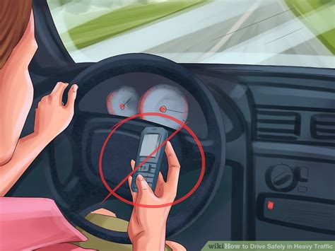 Cheap Car Insurance Drivers No Box by How To Drive Safely In Heavy Traffic 13 Steps With Pictures