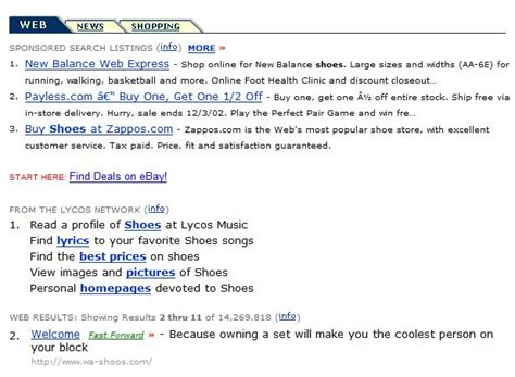 Lycos Search Does The Fairsearch White Paper On Being