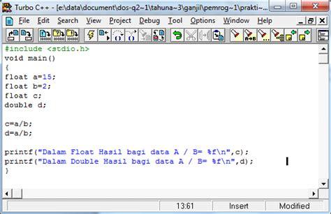 format data adalah mengenal identifier dan tipe data materitik
