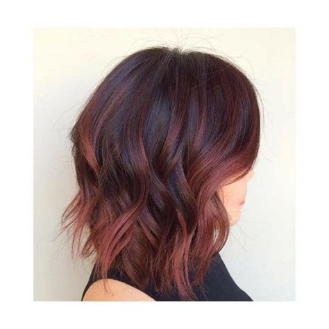 hairstyles with mahogany highlights the 25 best mahogany hair colors ideas on pinterest
