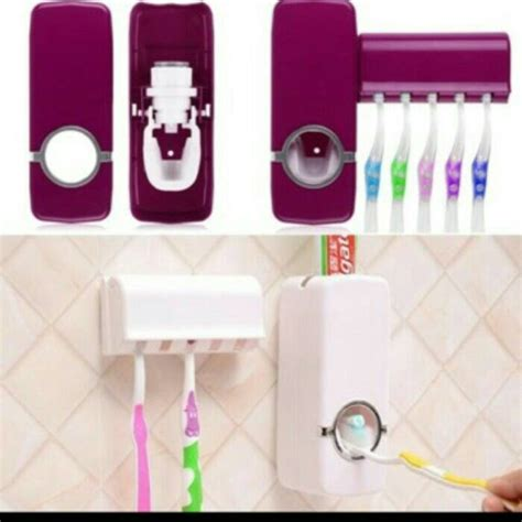Dispenser Pasta Dan Sikat Gigi jual dispenser odol dan sikat gigi dispanser tempat pasta