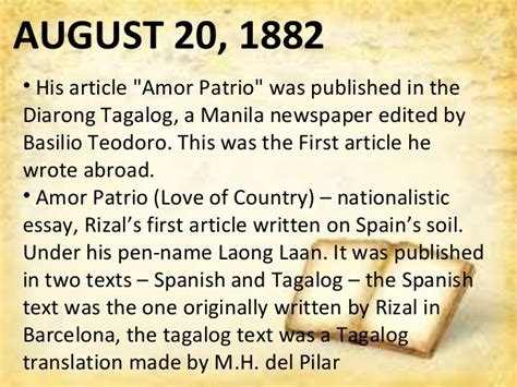 Was Rizal An American Made Article Rizal Trip Abroad