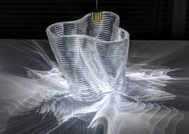 gorgeous glass objects created with a 3d printer cnet