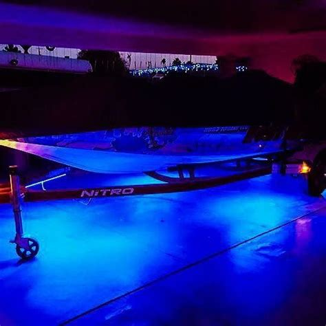 boat trailer lights in water 61 best images about bass boat led lighting on pinterest