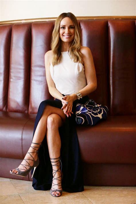 E News Hosts Wardrobe by Catt Sadler Talks Shoes