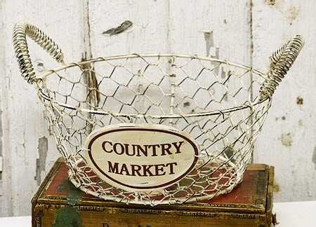 decorative wire baskets wholesale country kitchen decorating accessories wholesalemy party