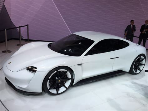 porsche concept cars porsche mission e concept car automotive rhythms