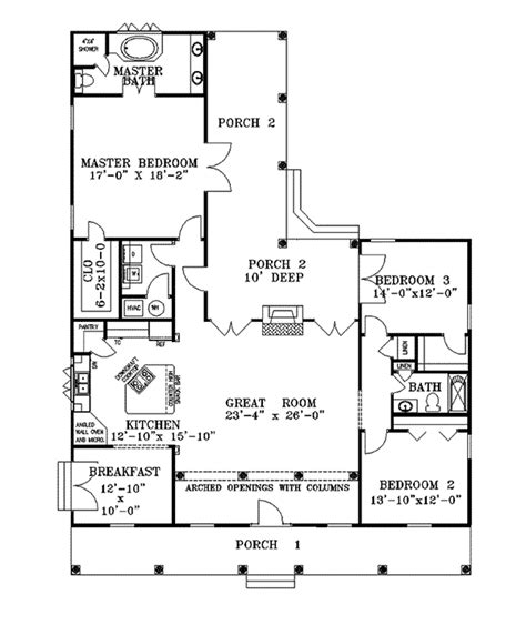 hill country floor plans bushnell hill country home plan 028d 0044 house plans and more