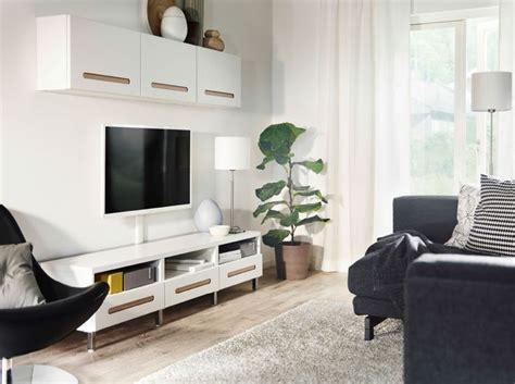 living room se svart och vitt vardagsrum med best 197 mediaf 246 rvaring i vitt och svart nockeby soffa living room