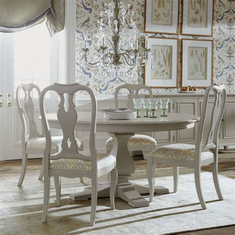 round table dining room ethan allen pin by lynn allen on white pinterest