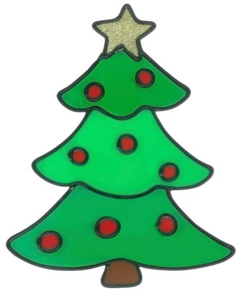 Fensterdeko Basteln Weihnachten Kinder by Magicgel Fensterbilder Weihnachten Tannenbaum 15 X 19