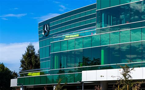 mercedes headquarters mercedes opens headquarters and r d center in