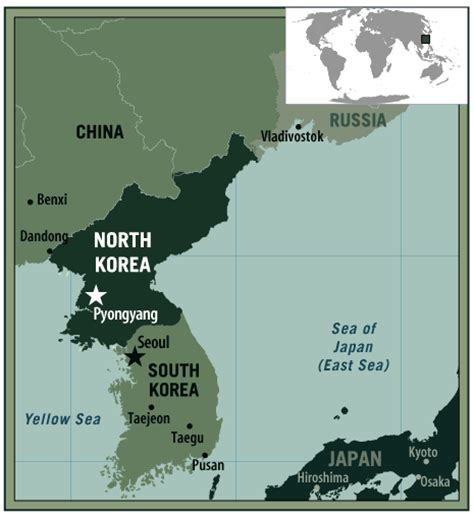 North Korea On World Map by Map Of North Korea Democratic People S Republic Of Korea