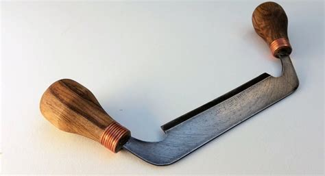 Drawing Knife by Make A Draw Knife From An Saw Blade Make