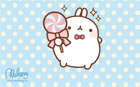 Molang Mochi Iphone All Hp Fancy Lollipop Molang In The Clouds The O
