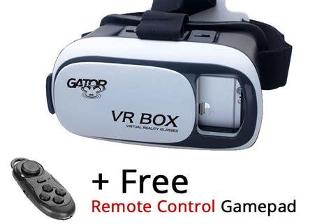 Vr Box New Edition 3d vr box gator edition reality goggles glasses