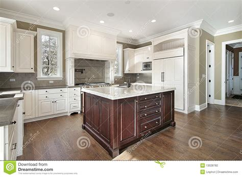 kitchen with center island kitchen with center island stock photography image 13028782