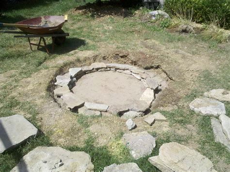 The Type Of The Fire Pit Rocks Affects How The Fire Rock Firepit