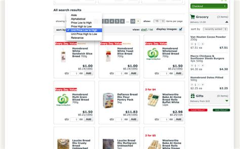 printable shopping list woolworths woolworths online my fav features be a fun mum