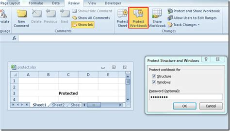 reset vba password proxoft excel 2010 password protect spreadsheet