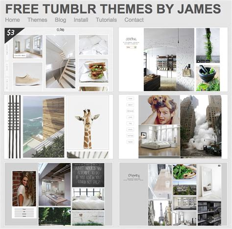 tumblr themes free james themes by james for tumblr is it time for you to tumble