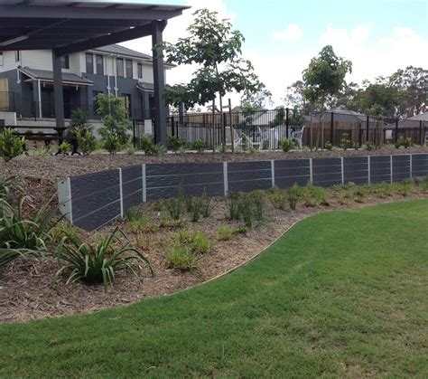 Railway Sleepers Bunnings by 1000 Ideas About Concrete Sleeper Retaining Walls On