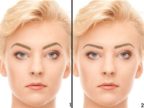 the aesthetics of the eyebrows feminine beauty the men with feminine eyebrows