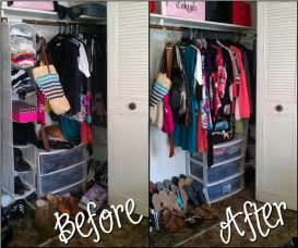 organizing a small closet anything everything